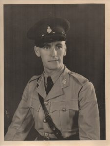 Roy Coppard joined the NRP in July 1949. This photograph was taken in Ndola in uniform of Assistant Inspector Grade II.