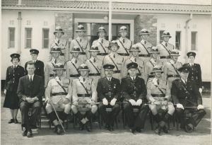 Squad 10 of 1958: Back row: -, P.Connick, N.Dobson, J.Cresswell, W.Evans, Middle row: N.Darlaston, –, –, –, –, –, B.Clamp, G.Trinkle, S.Stacey Front row: -, D.Oliver, E.Jones, LMClarke, –, G.Muir, P.Dixon