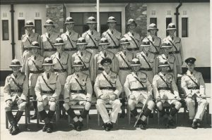 Squad 3 of 1959 Passing Out of Training School