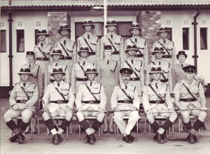 Squad no 39 of the NRP at Lilayi 1961