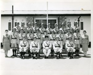 The passing out photo for squad 12 of 1960