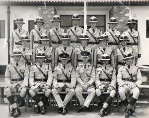 9/63 The last squad to pass through the training school