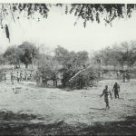 On the banks of the Luangwa River – Lumpa campaign – 1964 (A1 platoon – Northern Rhodesia Police Mobile Unit)