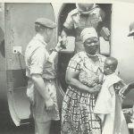 NRAF & Prisons Officers escorting Alice Lenshina to detention in Mumbwa – Northern Rhodesia – Lumpa uprising - 1964