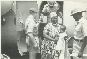 NRAF & Prisons Officers escorting Alice Lenshina to detention in Mumbwa – Northern Rhodesia – Lumpa uprising - 1964