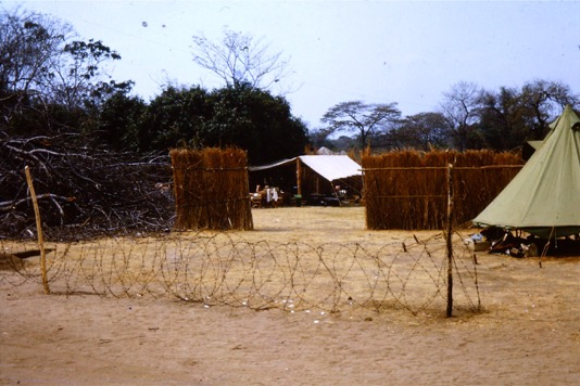 Mobile Unit camp – Chief Chikwa (Luangwa) Lumpa Campaign 1964