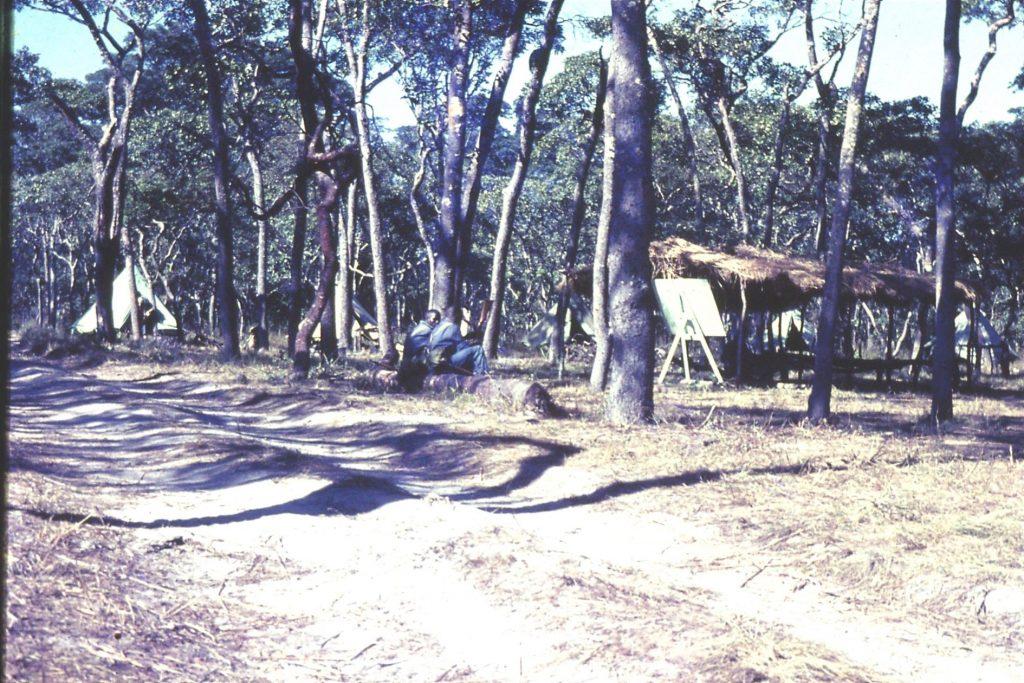 Mobile Unit new recruits – camp - bush training 1967