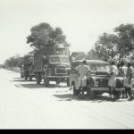Puncture on the road from Namwala – My platoon – A1 (1965/66)