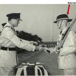Assist Commissioner Castle presents Squad 9/63 Baton of Honour
