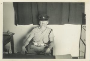 Insp. O'Brien thinks he's tough! ZP Mobile Unit Training Officer - 1967
