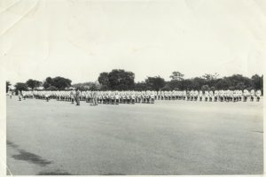 Recruit pass-out parade – ZP Mobile Unit - Kamfinsa - Circa 1967